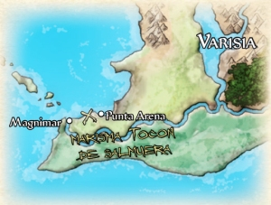 Mapa goblins