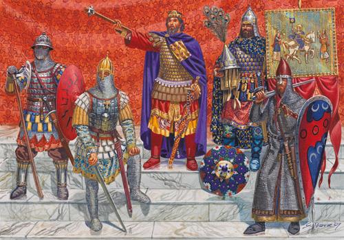 вэренги как варяжская гвардия византийского императора